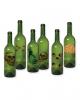 Halloween Flaschen Etiketten 6 St.