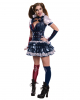 Harley Quinn Kostüm : sexy harley quinn kost m dc comic cosplay kost m horror ~ Frokenaadalensverden.com Haus und Dekorationen