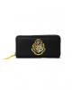 Harry Potter Hogwarts Crest Wallet Black