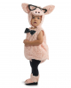 Hipster Piggy Toddler Costume