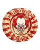 Horror Clown Party Teller 8 Stück
