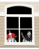 Horrorclowns Window Foil 60cm