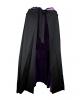 Hooded Cape Black-Violet