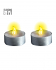 LED Decoration Tea Lights 2 Pcs.