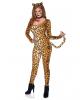 Leoparden Jumpsuit Kostüm