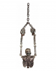 Skeleton Torso Tied With Chains