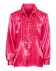 70s Disco Fashion Shirt Pink