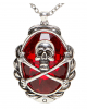 Pirate Necklace With Skull & Bones