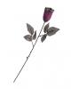 Violette Gothic Rose mit Glitzer
