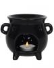 Black Witch Cauldron Tea Light Holder Scented Lamp