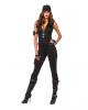 Sexy SWAT Commander Damen Deluxe Kostüm
