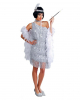 Charleston Kleid Silber