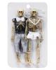 Skelett Brautpaar 15cm