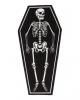 Skeleton In Coffin Carpet