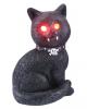 Spooky Cat mit roten LED Augen