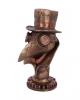 Steampunk Pestdoktor Büste 23 cm