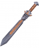 Viking Sword Skull