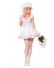 Zauberhafte Braut Premium Kostüm S