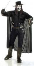 V for Vendetta Deluxe Costume