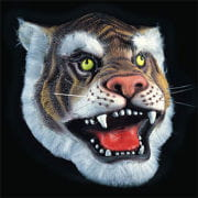 Tiger Latex Maske