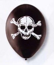 Skull and Bones Luftballons