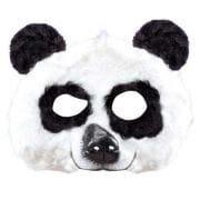 Panda Mask Made Of Plush