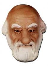 Weihnachtsmann Maske aus Schaumlatex