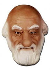 Santa Claus mask made of foam latex