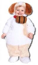 Sweet St Bernard Child Costume L