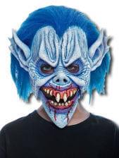 Blue Devil Child Mask