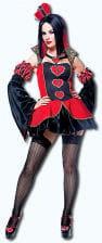Herzkönigin Kostüm Gr.L