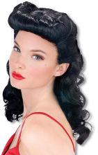Burlesque Beauty Perücke schwarz