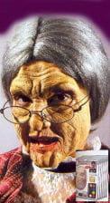 Alte Frau Schaumlatex Komplett Set