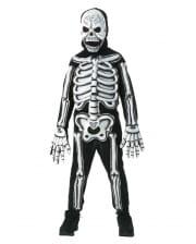 3D Skeleton Child Costume