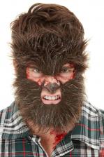 Hairy Werewolf FX Half Mask