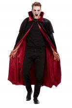 Vampir Cape Velours Deluxe für Erwachsene