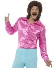 60s Disco Hemd pink