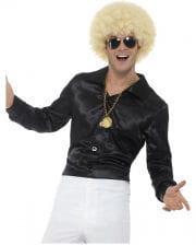 60s Disco Hemd schwarz