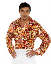 70s Multicolor Schlager Shirt