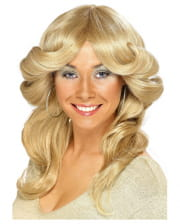 70s Wig Agnetha Blond
