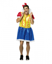 Bro White Men Costume Dress