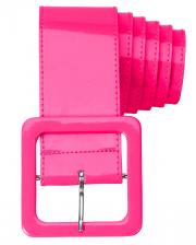 80s Belt Neon Pink