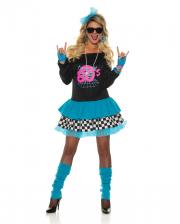80er Jahre Material Girl Kostüm