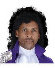 Purple Rain Popstar Wig