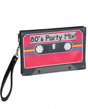80er Jahre Retro Kassetten Handtasche