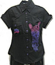 Rock On Shirt Size L