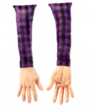 Severed Arm With Shirt Sleeves
