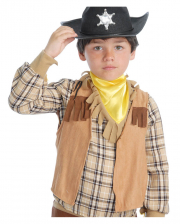 Sleeveless Cowboy Vest For Children