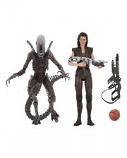 Alien Action Figure Set With Accessories