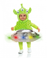 Alien & Ufo With LED's Toddler Costume